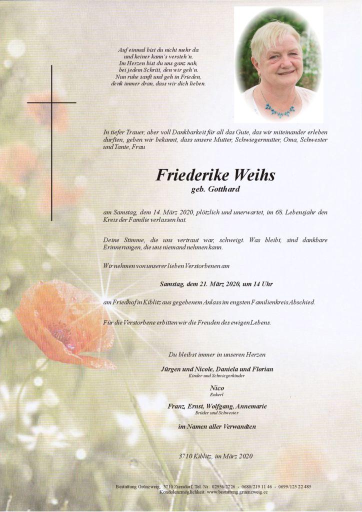Friederike Weihs