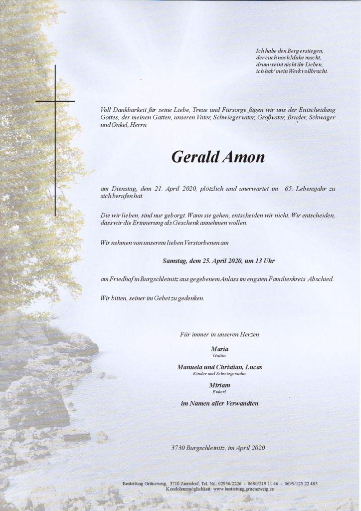 Gerald Amon