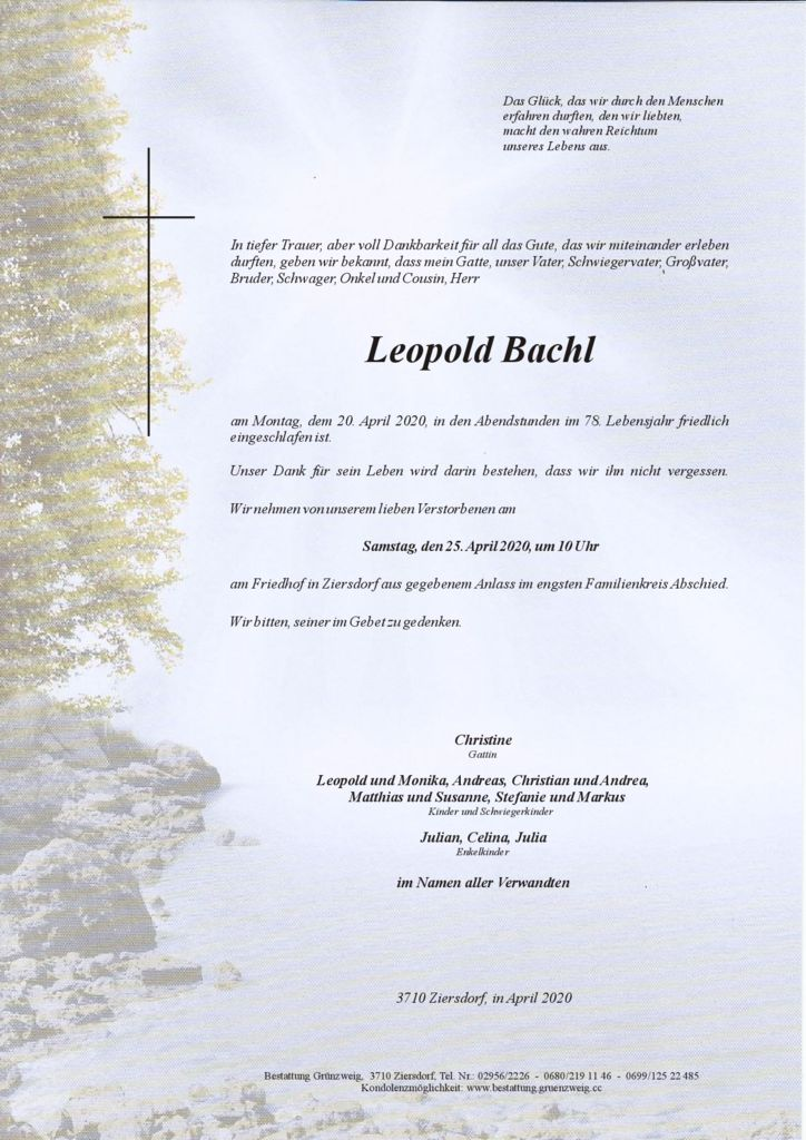 Leopold Bachl
