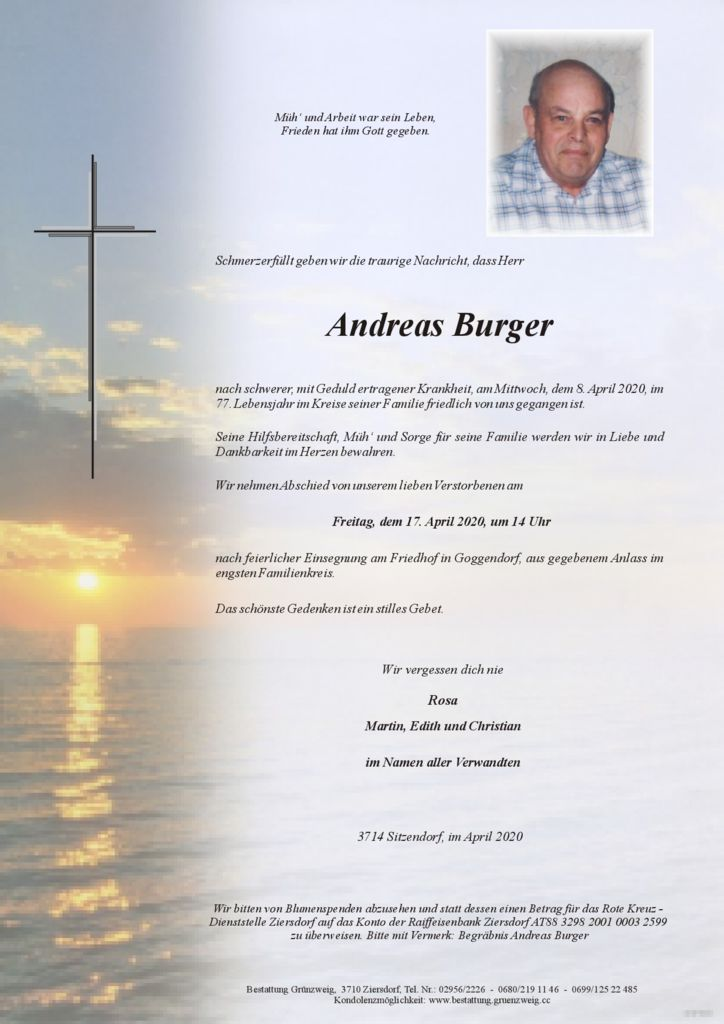 Andreas Burger