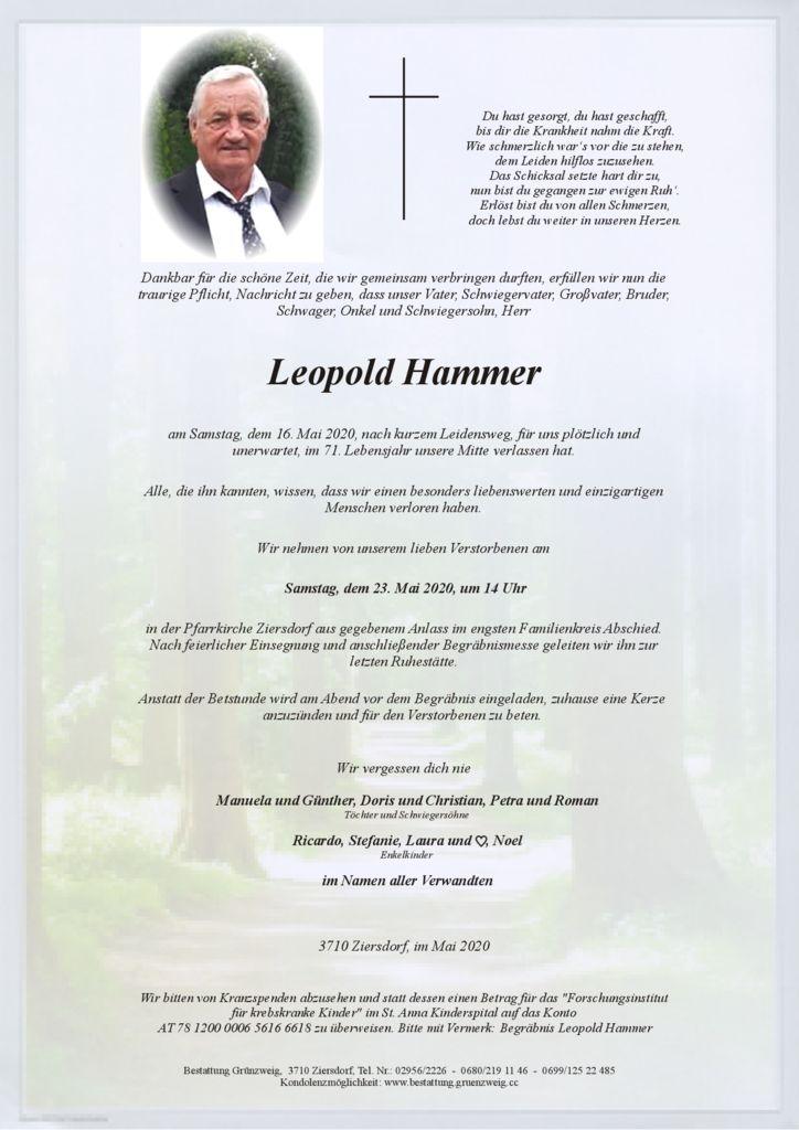 Leopold Hammer