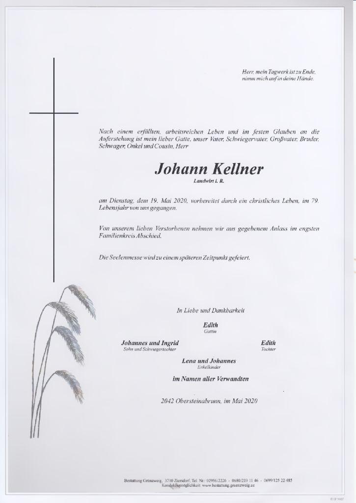 Johann Kellner