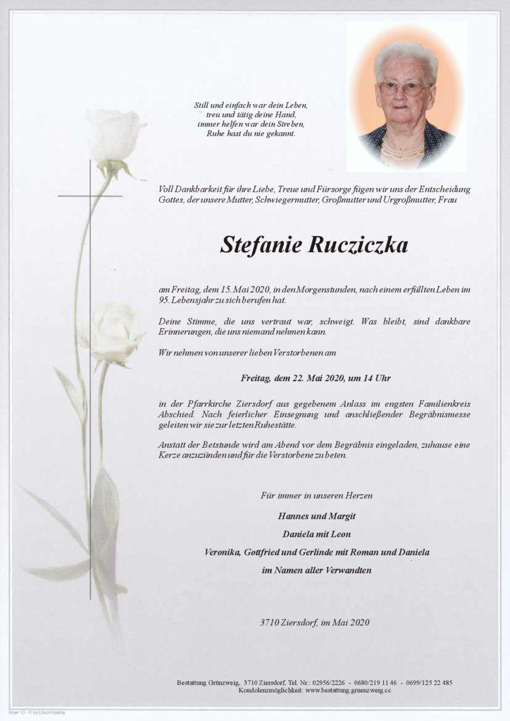 Stefanie Rucziczka