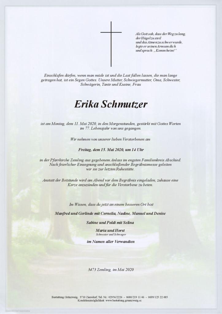 Erika Schmutzer