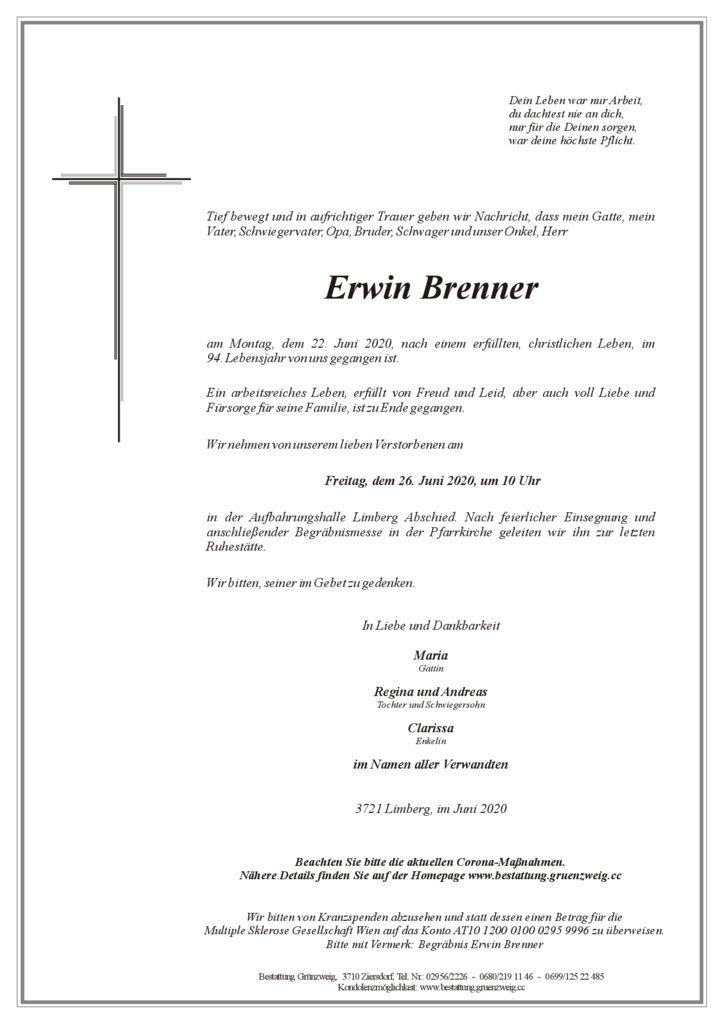 Erwin Brenner
