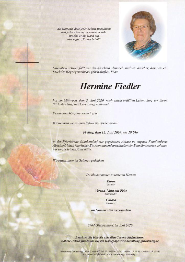Hermine Fiedler