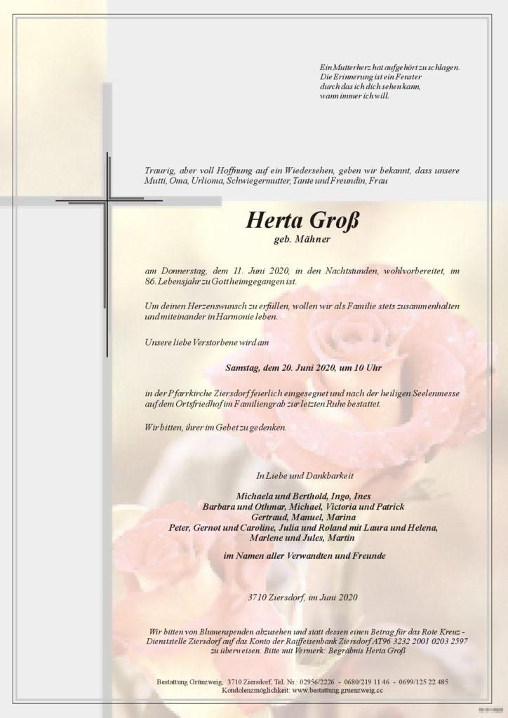 Herta Groß