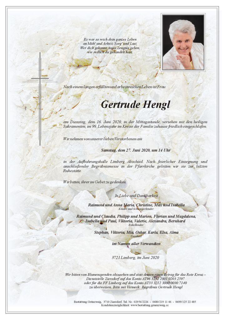 Gertrude Hengl