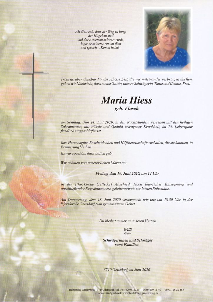 Maria Hiess