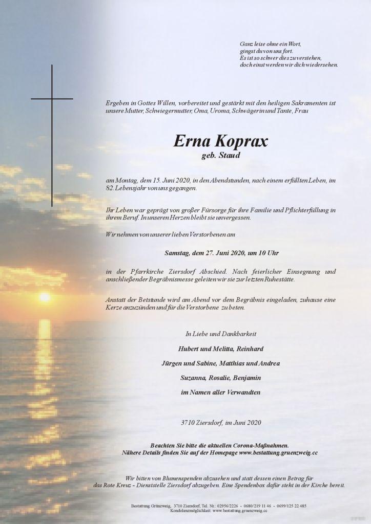 Erna Koprax