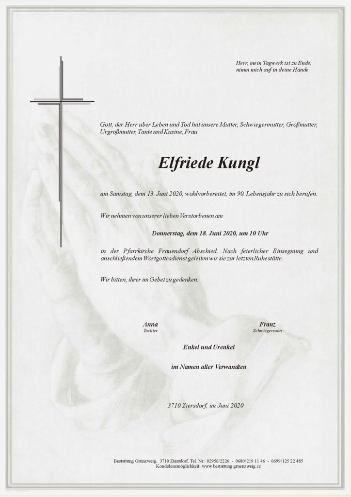 Elfriede Kungl