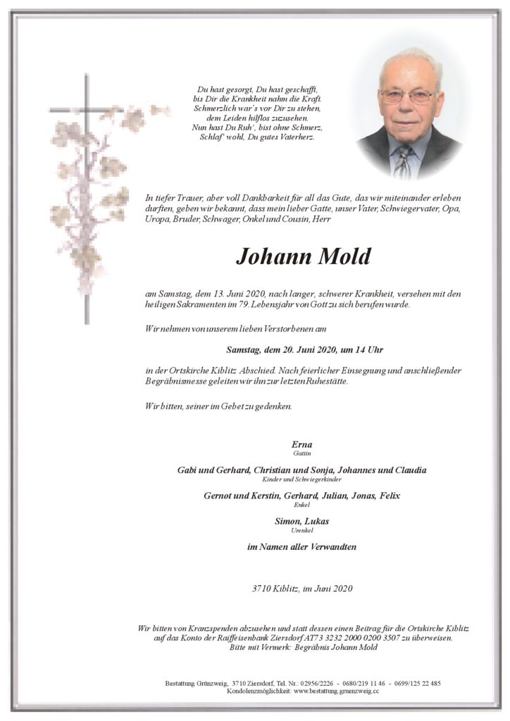 Johann Mold