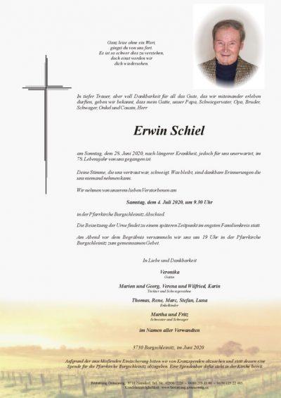 Erwin Schiel