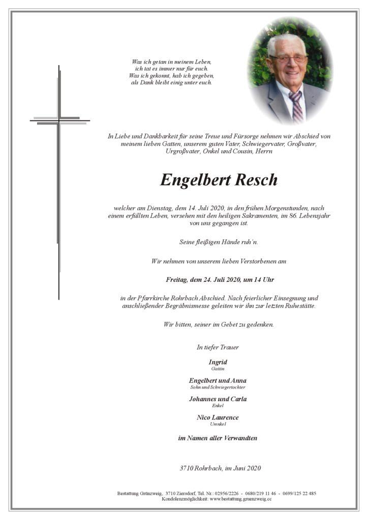 Engelbert Resch