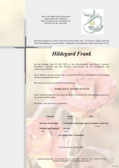 Hildegard Frank