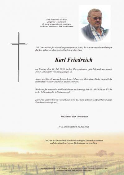 Karl Friedreich