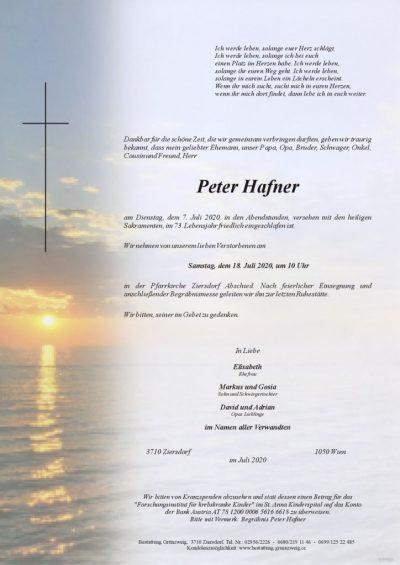 Peter Hafner