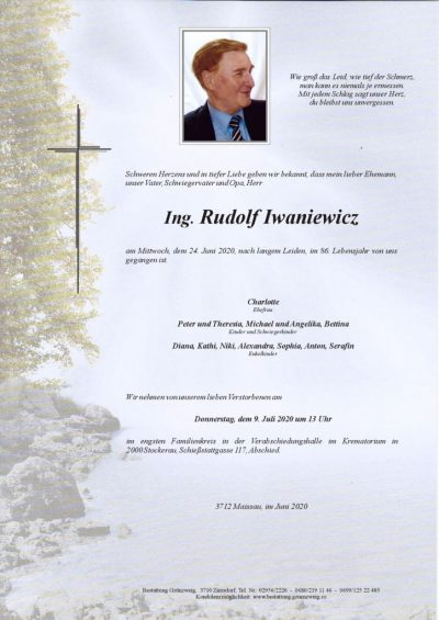 Ing. Rudolf Iwaniewicz