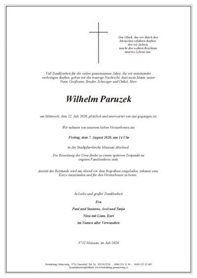 Wilhelm Paruzek