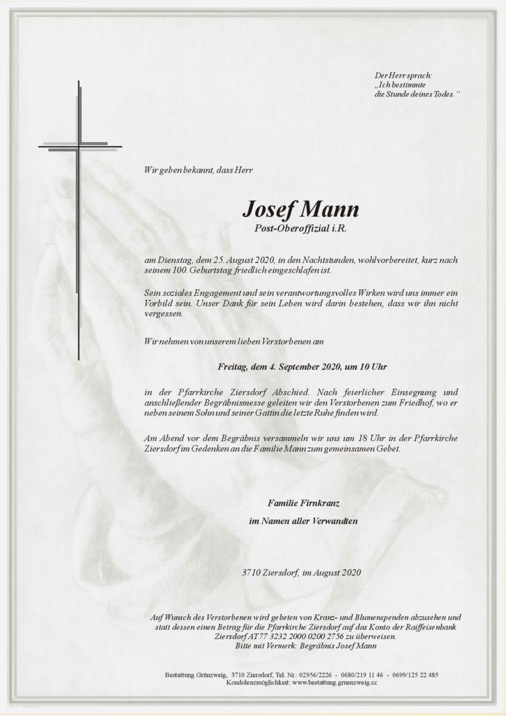 Josef Mann