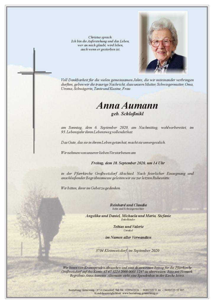 Anna Aumann