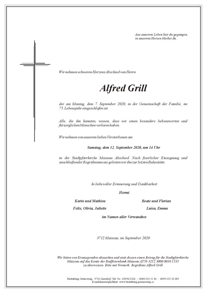 Alfred Grill