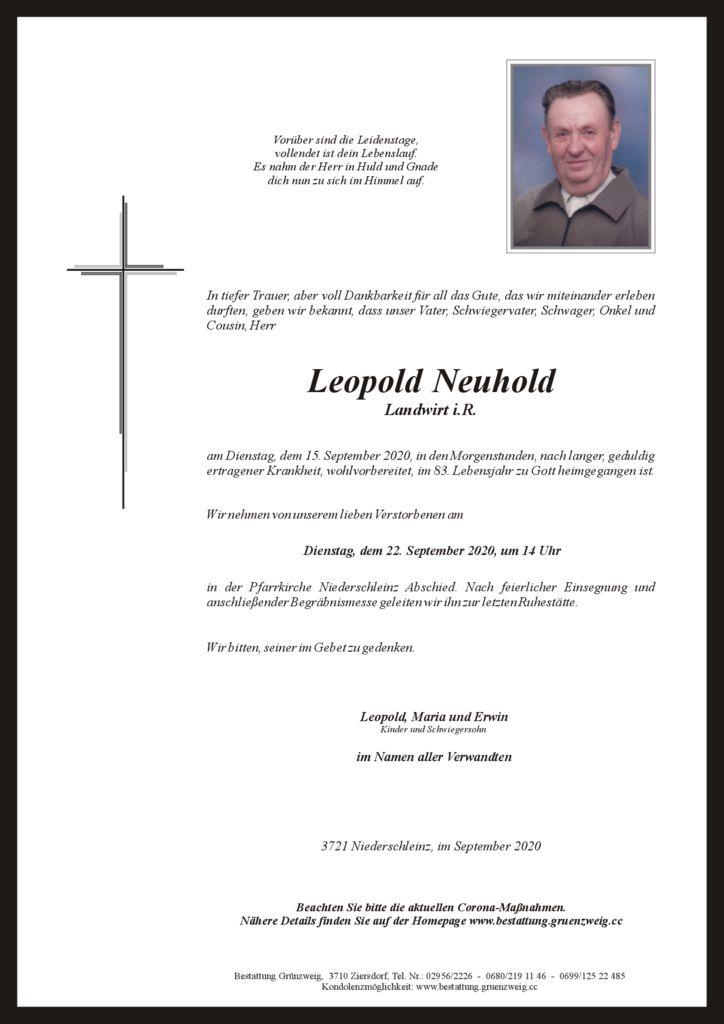 Leopold Neuhold