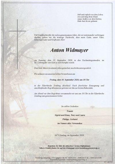 Anton Widmayer