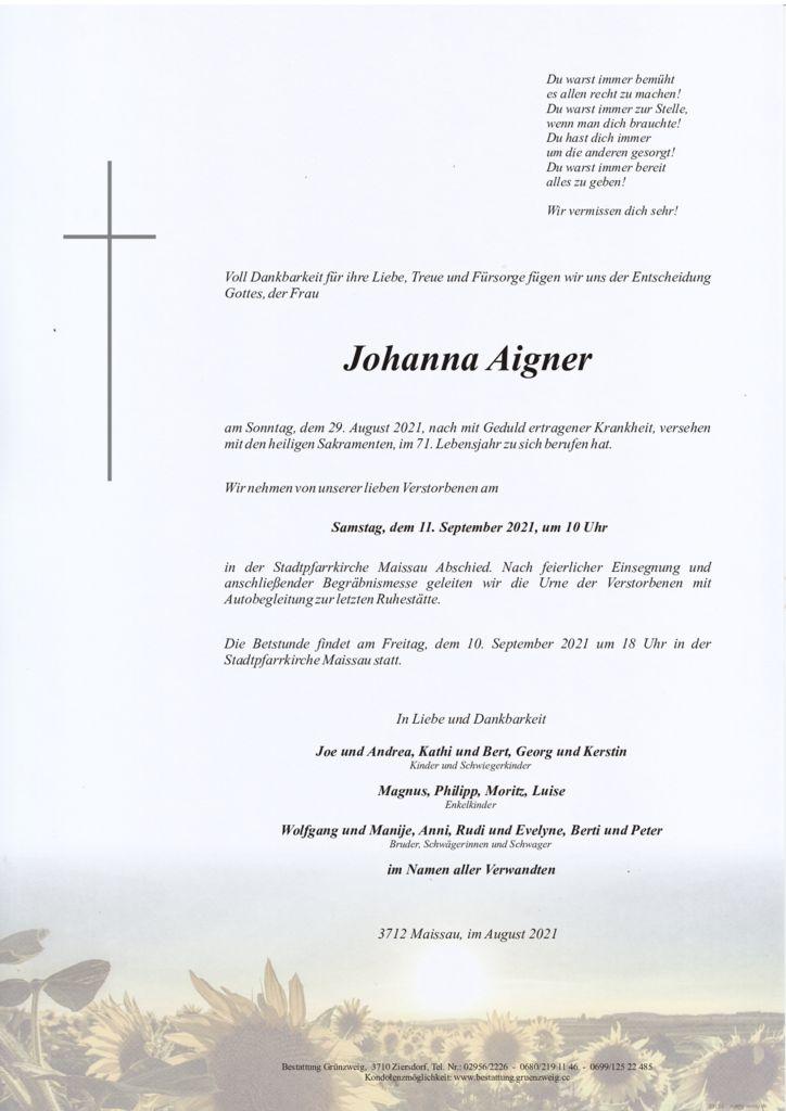 Johanna Aigner
