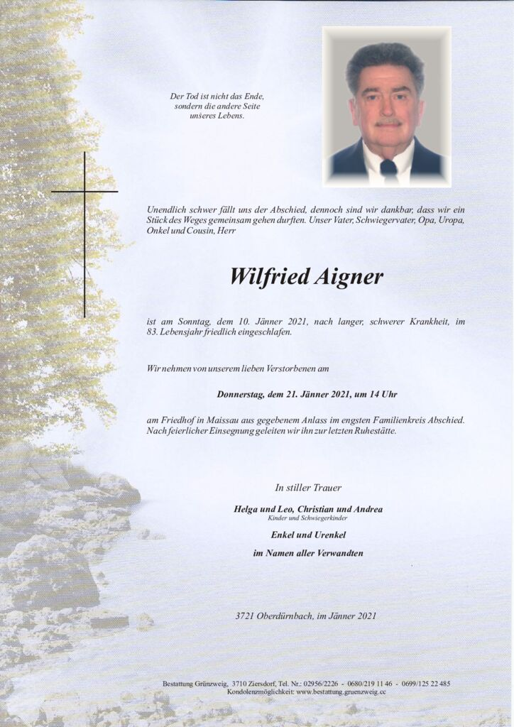 Wilfried Aigner