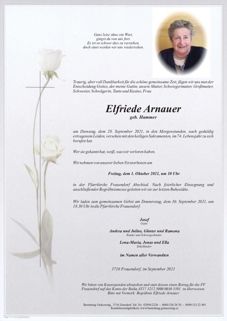 Elfriede Arnauer