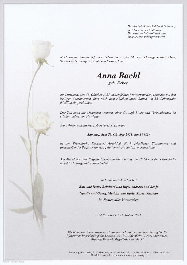 Anna Bachl