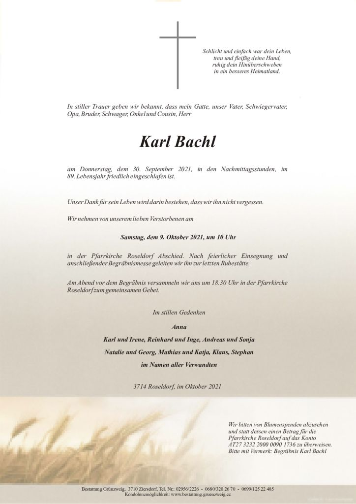 Karl Bachl