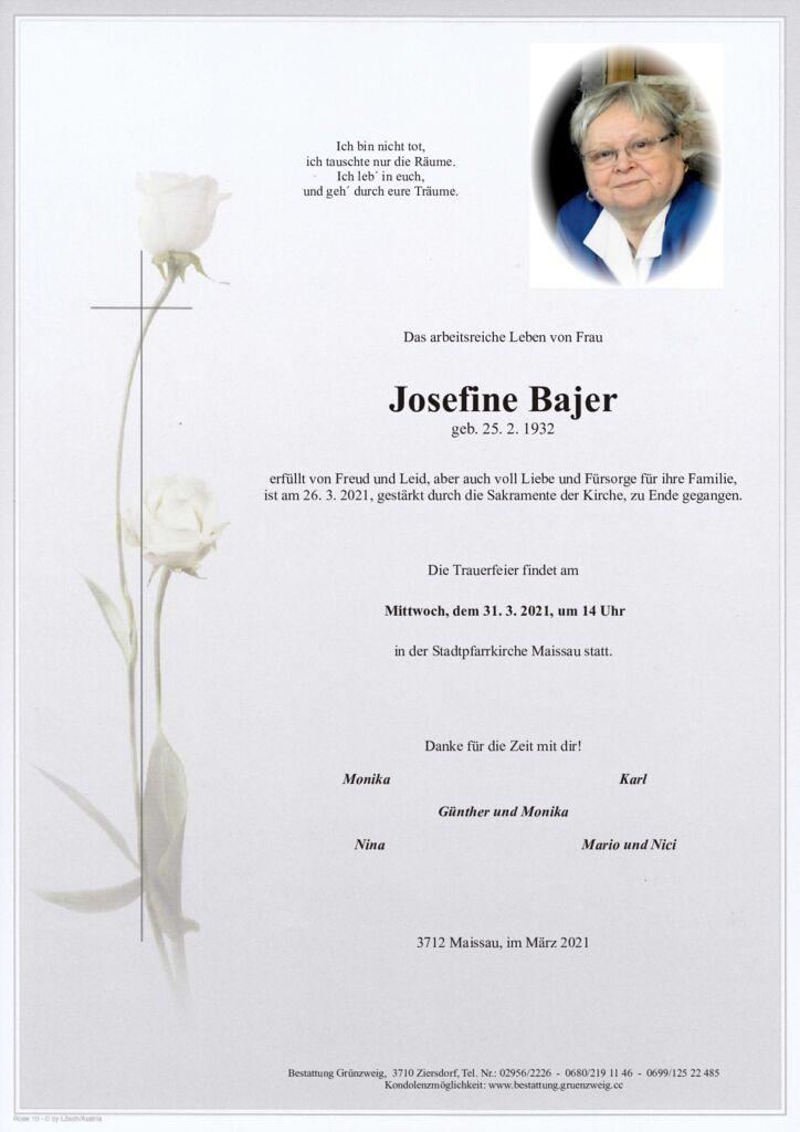 Josefine Bajer