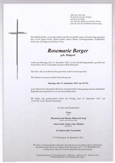 Rosemarie Berger