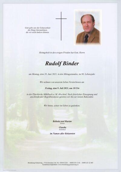 Rudolf Binder