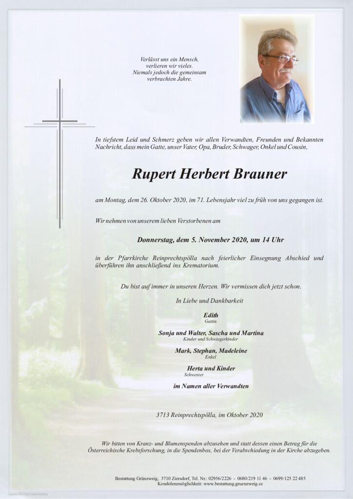 Rupert Herbert Brauner