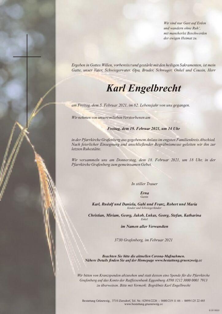 Karl Engelbrecht