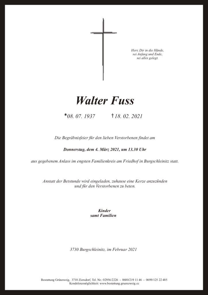 Walter Fuss