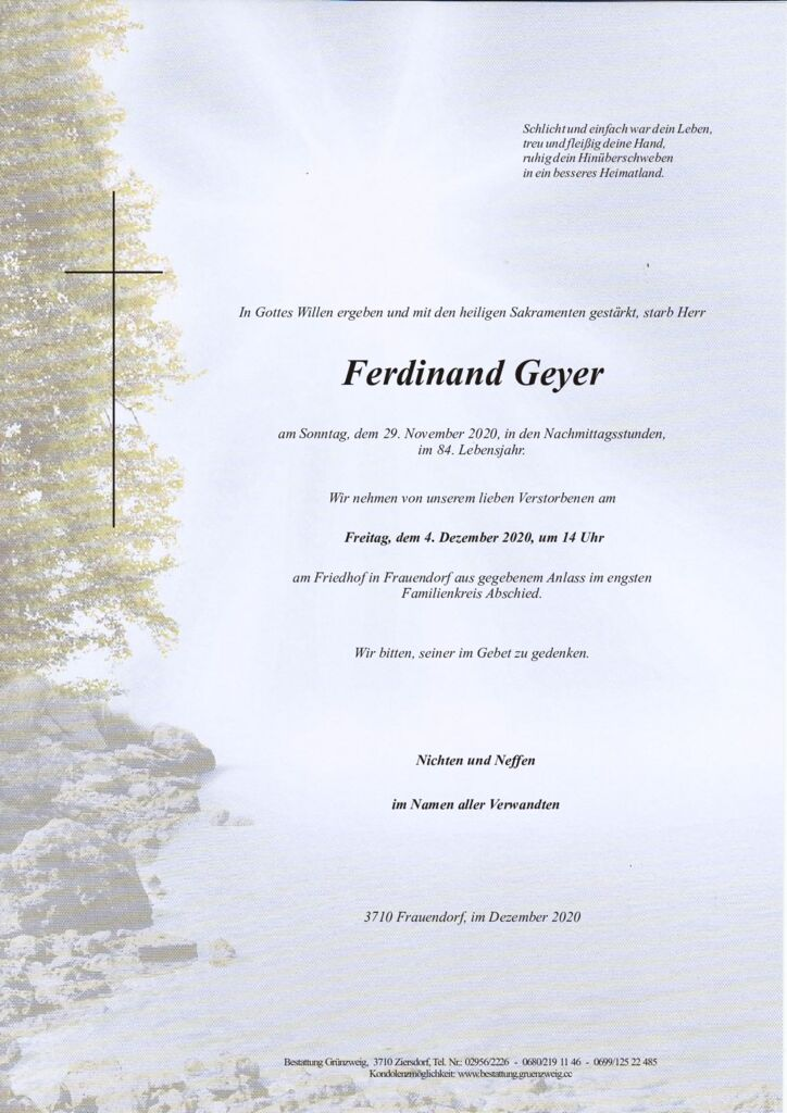 Ferdinand Geyer
