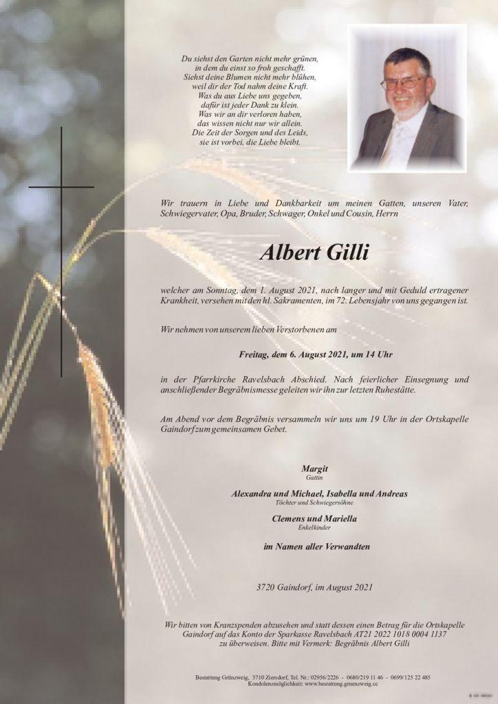Albert Gilli