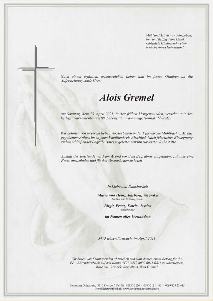 Alois Gremel