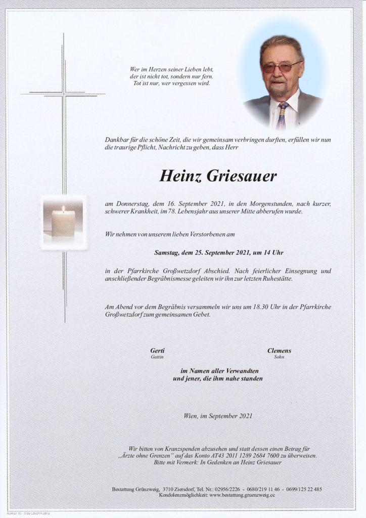 Heinz Griesauer