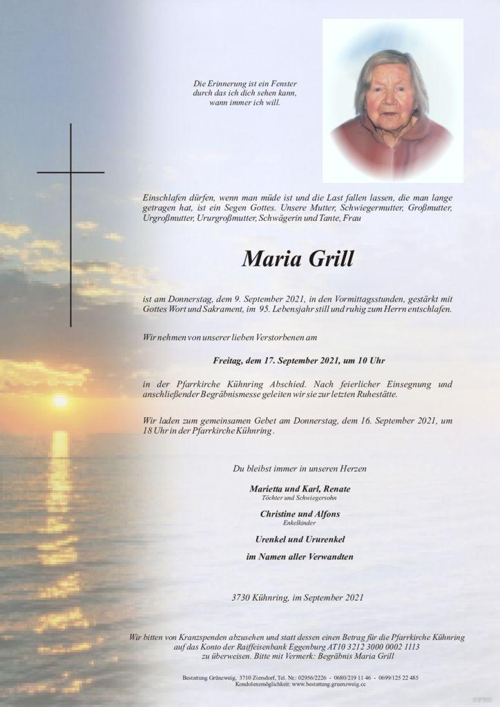Maria Grill
