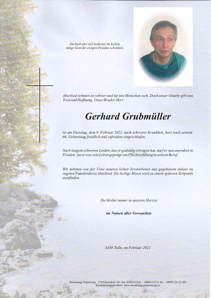 Gerhard Grubmüller