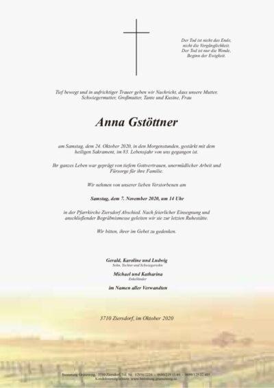 Anna Gstöttner