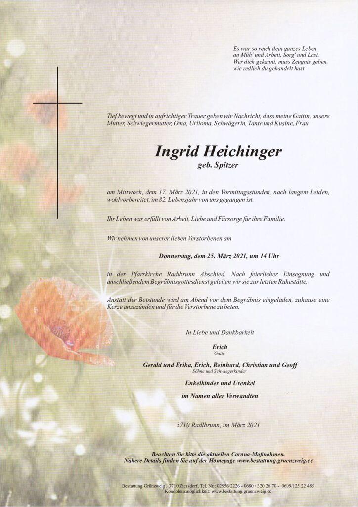 Ingrid Heichinger