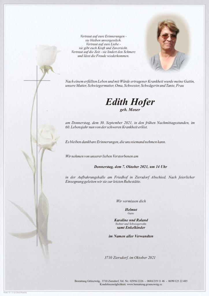 Edith Hofer