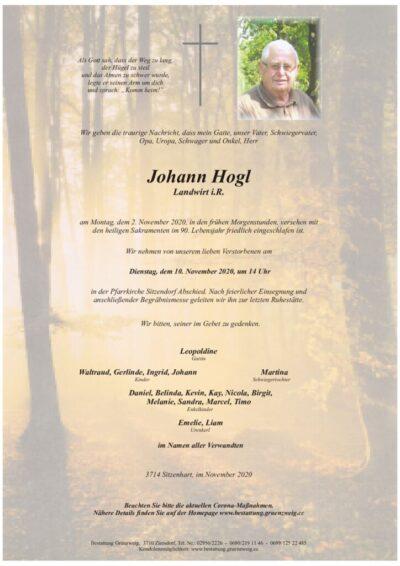 Johann Hogl