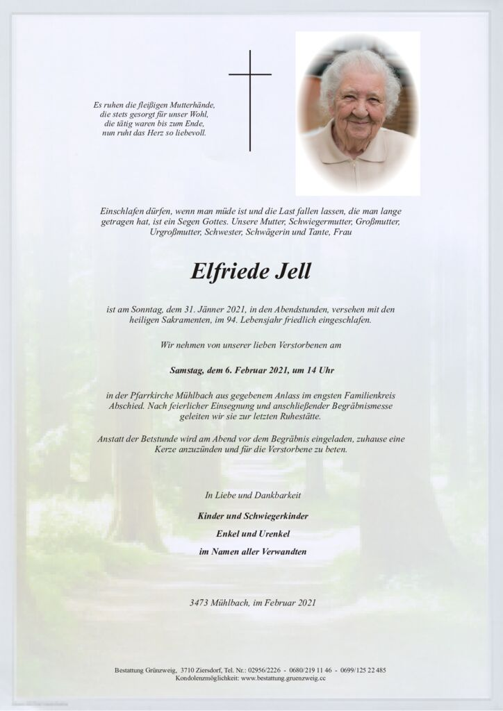 Elfriede Jell